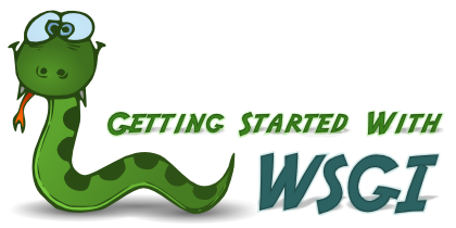 Getting started with WSGI